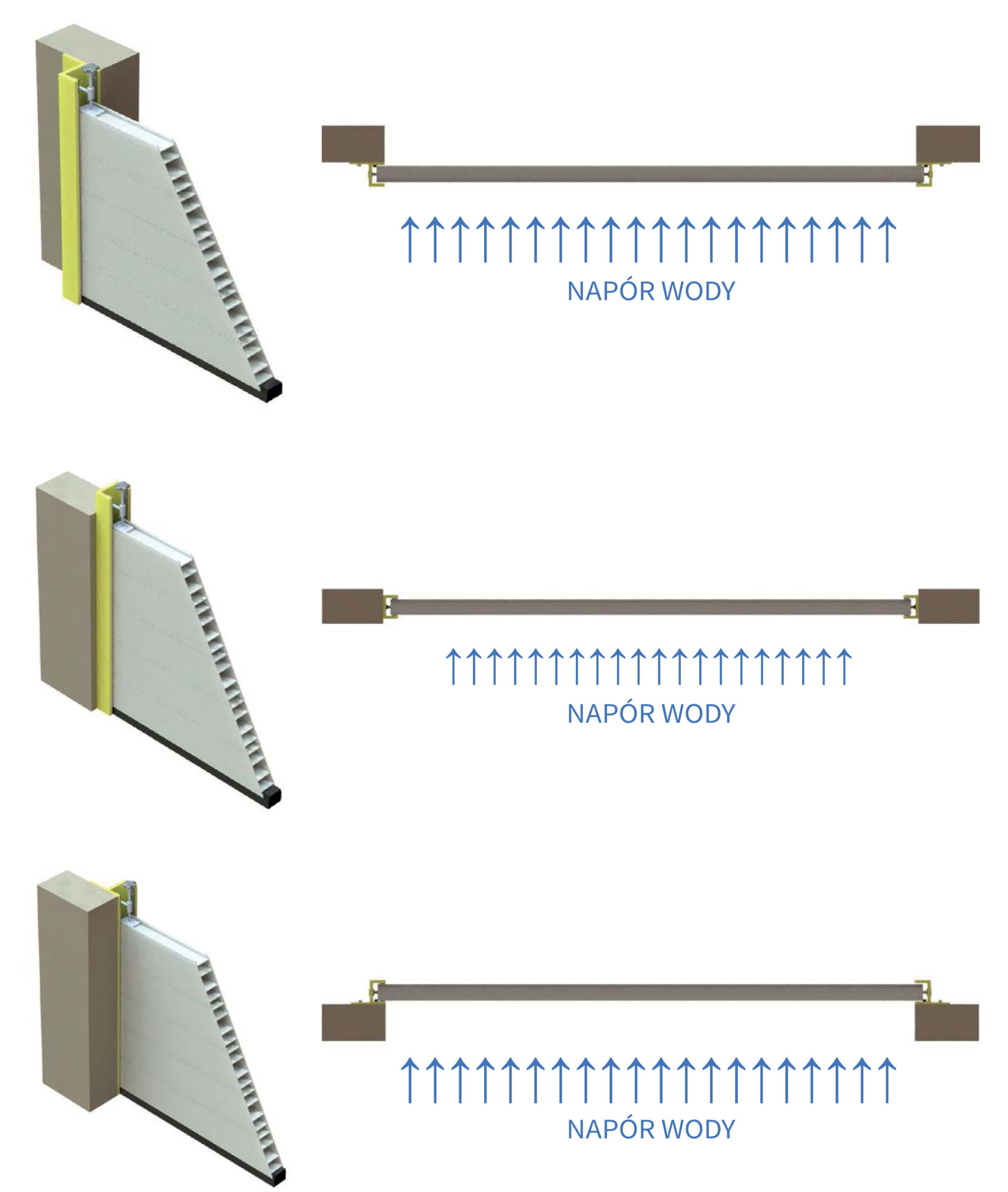 montaż bariery Floodwarden
